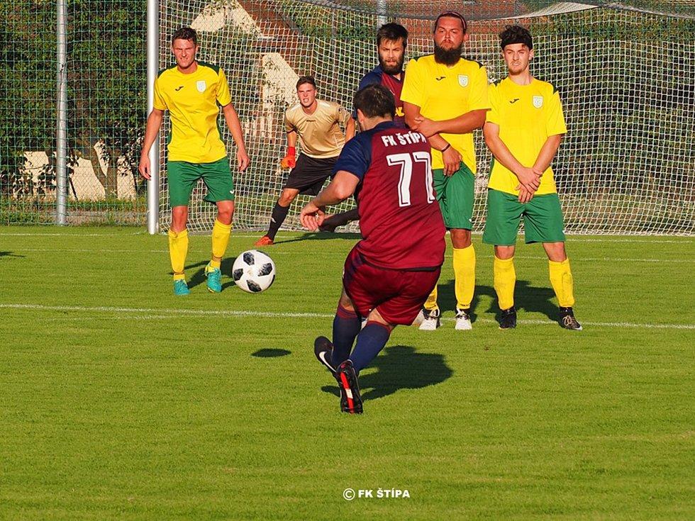 Fotbalisté Štípy získali v okresním přeboru Zlínska další dva body.