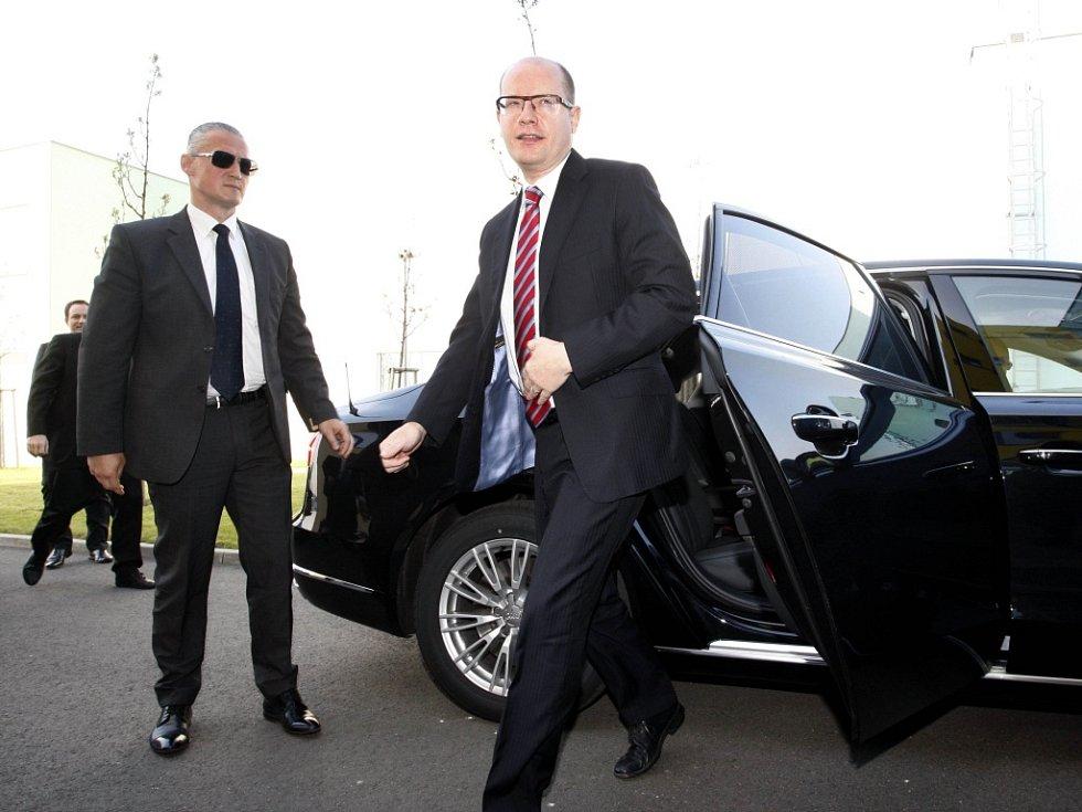 Premiér Sobotka je na návštěvě Zlínského kraje