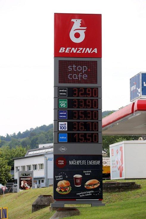 Benzina Zlín