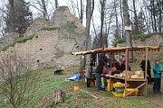 Adventní jarmark na hradě Lukov