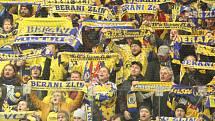 Fanoušci zlínských Beranů. Ilustrační foto