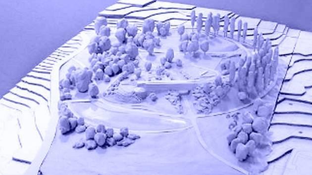 MAKETA. Zlínský magistrát pracuje na projektu Centrálního parku. Pokud vše půjde podle plánu, stavět se začne příští rok.