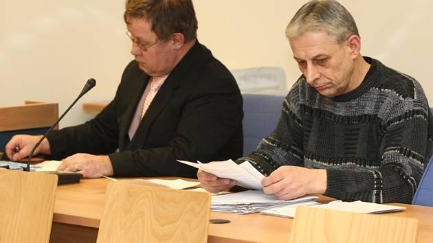 Jiří Devátý (vpravo).