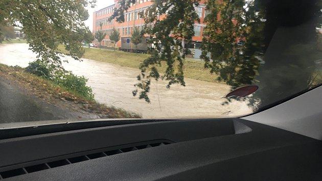 Vytrvalý déšť ve Zlínském kraji