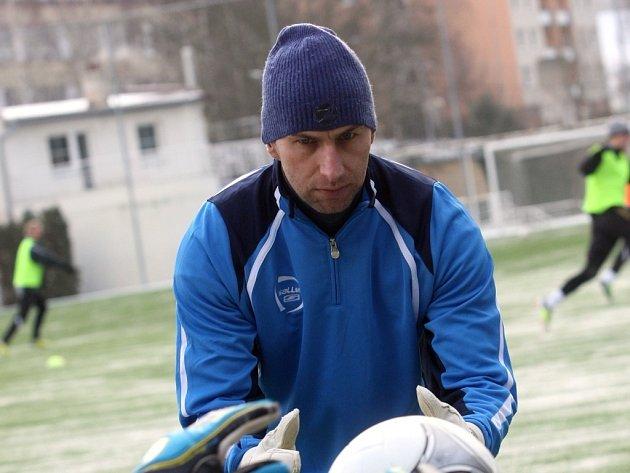 Otakar Novák, trenér brankářů ve Zlíně.