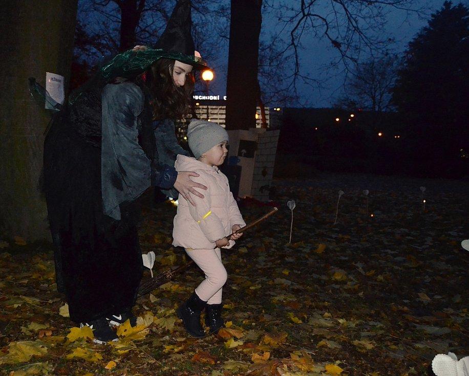 Děti si užily Hrátky se strašidly