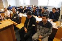 První den soudu s obžalovanými v kauze metanol ve Zlíně.