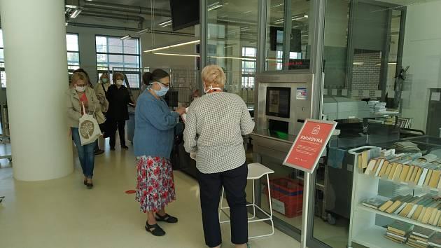 Ústřední knihovna ve Zlíně.