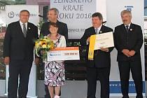 Zlatou stuhu v soutěži Vesnice Zlínského kraje letos získala Kašava. Slavnostní předání cen se uskutečnilo v neděli 7. srpna na Návsi v Kašavě.