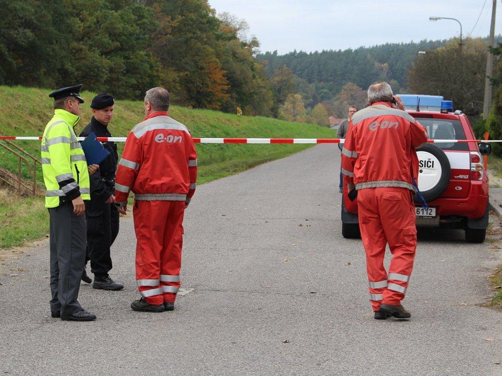 Říjen 2014. Celý region ohromil výbuch skladu munice ve Vrběticích na Zlínsku