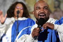 Americká kapela Oscar Williams jr. and The Band of Life odehrála vánoční koncer v úterý 20. prosince ve zlínském Kostele svatého Filipa a Jakuba.