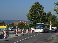 V Lukově je v plném proudu Revitalizace veřejných ploch.