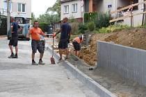 Na Mladcové ve Zlíně postaví nový chodník i zastávku