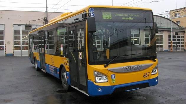 Nový autobus DSZO, únor 2021