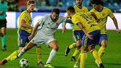 Milan Baroš mezi zlínskými hráči