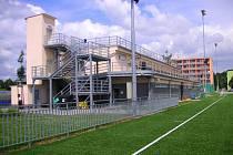 Základní kámen byl položen 28. dubna 2011, přesně o rok později byl areál v Otrokovicích otevřen.