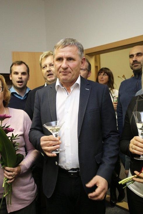 Volební štáb KDU-ČSL.