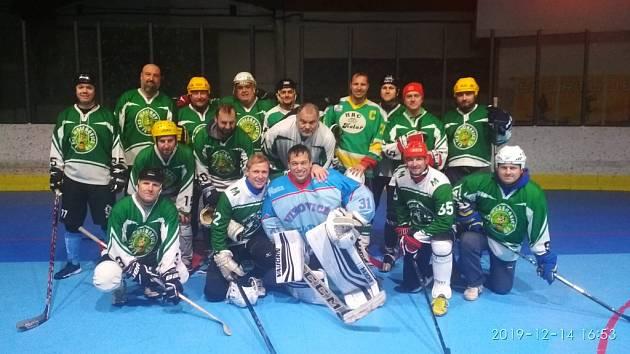 hokejbalisté Malenovic na turnaji v Žilině 2019