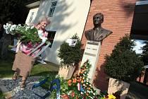 Uctění památky Tomáše Bati jr. ve vile T. Bati ve Zlíně.