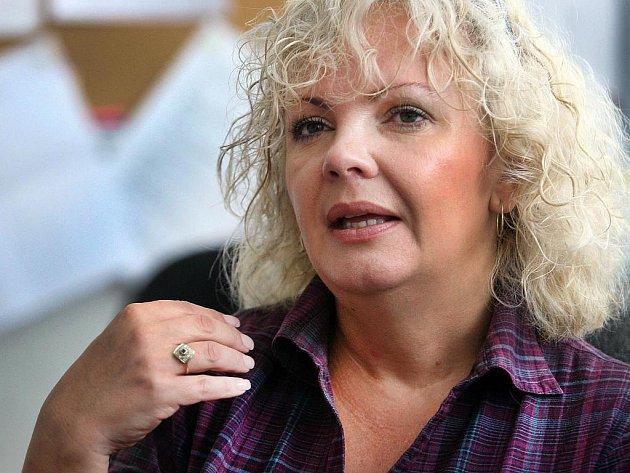 Dita Pokorná, zlínská krajská kriminalistka, která se zabývá problematikou domácího násilí.