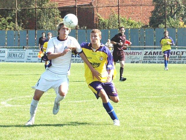 Z utkání týmů Slovácka B a Zlína B
