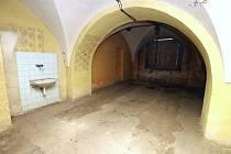 Interiéry staré budovy Okresního soudu ve Zlíně.