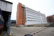 Budova č. 103 v továrním  areálu  ve Zlíně.