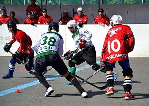 2. liga hokejbal Malenovice-Bulldogs Brno B