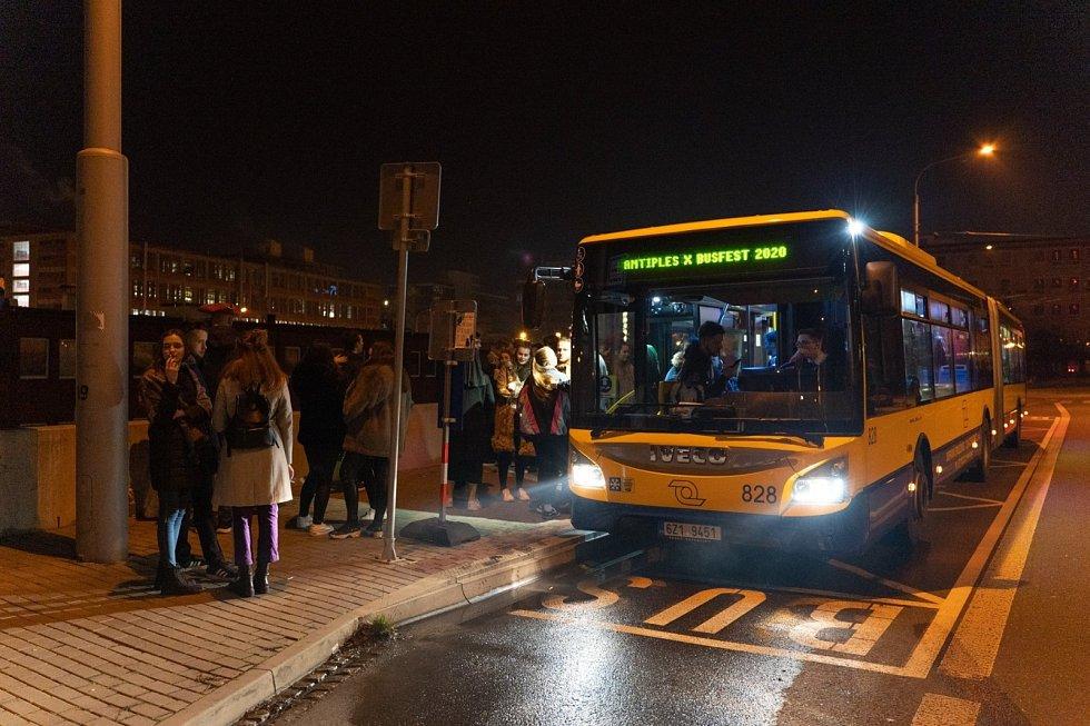 Busfest ve Zlíně.