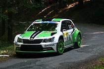 Barum Rally 2015. Průjezd RZ 3 - Pindula