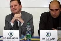 Na místo prezidenta zlínského hokejového klubu představenstvo zvolilo primátora města Miroslava Adámka.