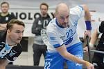 Sedmatřicetiletý florbalista Otrokovic Marek Zapletal se vrátil do Superligy, trénuje i hokejové brankáře