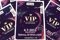 Mega párty s Rytmusem: užít ji lze i v VIP zóně