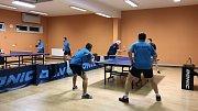 3. liga stolních tenistů Orel Zlín - Šarovy