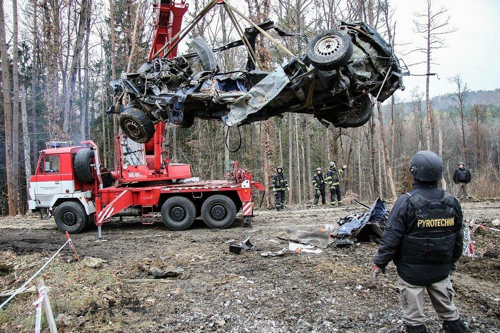 Zásah v bývalých muničních skladech ve Vrběticích skončil teprve v říjnu roku 2020. Vyšetřování prokázalo zapojení ruských tajných služeb.