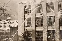 """20. listopadu 1944 tak zažil Zlín velmi tragický den. Americká 15. letecká armáda shodila na město asi 200 pum. Většina z nich dopadla do továrního areálu, pár se jich však """"zatoulalo"""" i do obytných čtvrtí, například na Letnou."""