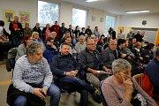 Setkání zlínských radních s občany Letné ve Zlíně.