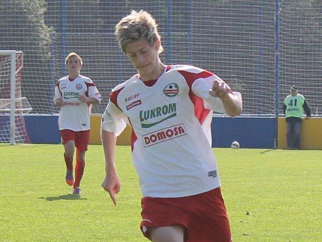 Roman Macek, zlínský mládežnický reprezentant.
