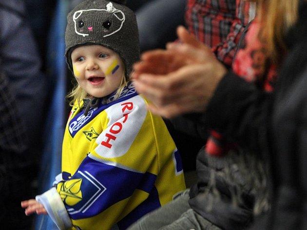 Zlínští hokejisté vstoupili do play-off Tipsport Extraligy prvním zápasem předkola s třineckými Oceláři.