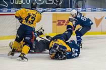 Hokejisté Zlína ve 24. kole extraligy nestačili na Plzeň. Po polovině zápasu přitom už prohrávali 0:5.