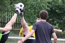 3. ročník nohejbalového turnaje trojic ve Velkých Těšanech