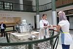 Znovuotevření haly Vincentky v Luhačovicích.