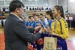 Sportovní liga v házené základních škol, finálové zápasy + slavnostní vyhlášení.