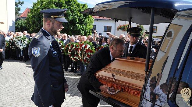 Pohřeb Františka Čuby