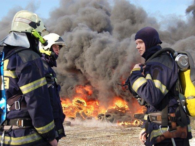 Požár v Bojkovicích