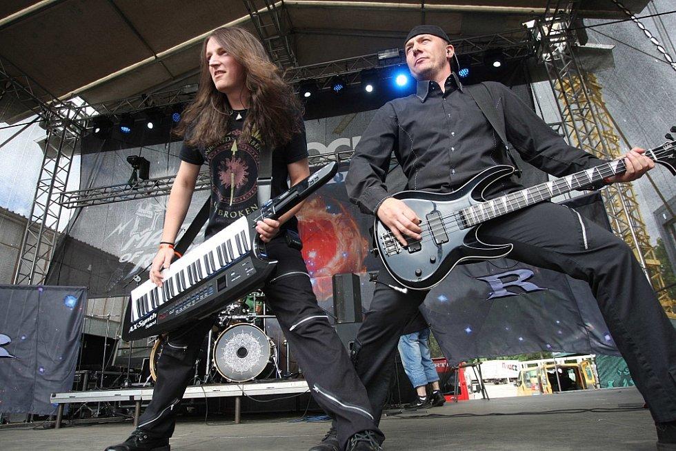 Festival Masters of rock 2016 ve Vizovicích. Skupina Rimortis.