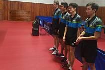 stolní tenisté KST Zlín