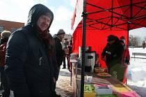 Ani mráz neodradil návštěvníky Tříkrálového festivalu ve Zlíně