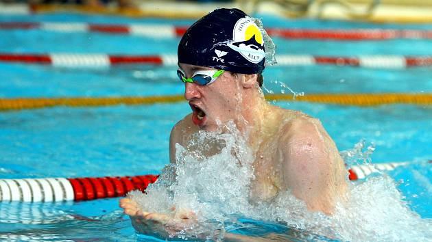 Zlínský plavec Macek