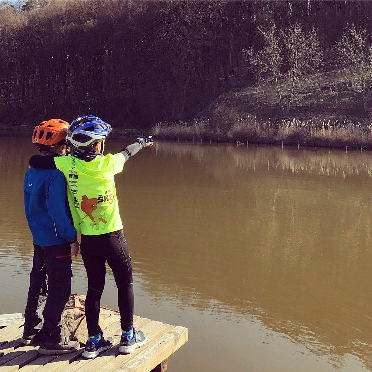 Čtenáři fotografují jaro. 4.4.2020 na Fryštácké přehradě.